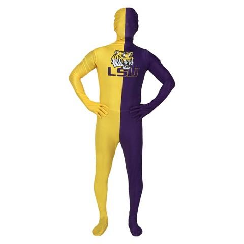 Louisiana State Tigers Men's Skin Suit - Blue/Yellow(OSFM)