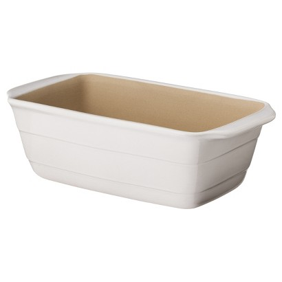 "NaturalStone™ 9""x5"" Loaf Pan - White"