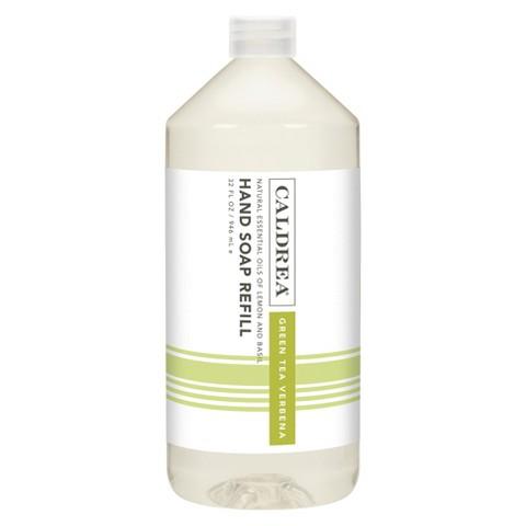 Caldrea Essentials Collection Green Tea Hand Soap Refill - 32 Ounce