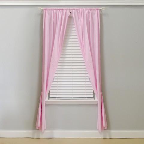 Pam Grace Pink Curtain Panels