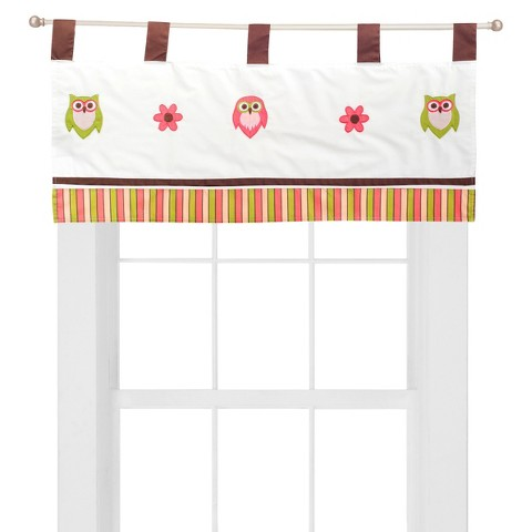 Pam Grace Creations Sweet Dream Owl Valance