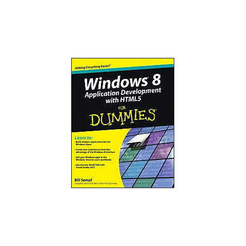 Windows 8 Application Development With H ( For Dummies Series) (Paperback)