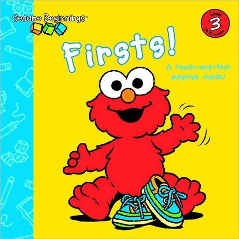 Firsts! (Sesame Beginnings Series) by Naomi Kleinberg, Christopher Moroney (Illustrator)(Board Book)