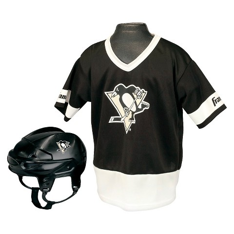 Franklin Sports Pittsburgh Penguins  Hockey Uniform Set for Kids - One Size Fits Most (5-9 Years)