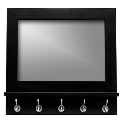 Threshold™ Pub Mirror - Black