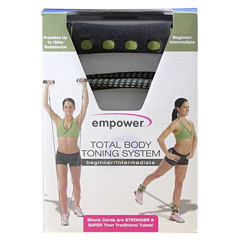 Empower Deluxe Total Body Toning, Beginner/Intermediate - Green