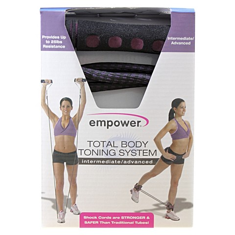 Empower Deluxe Total Body Toning, Intermediate/Advance - Pink