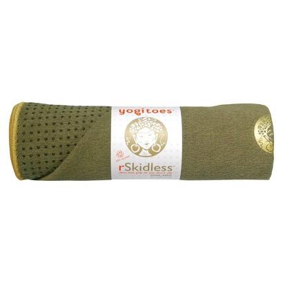 yogitoes Skidless Yoga Towel - Tara Green