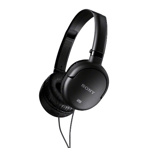 Sony On-the-Ear Noise Cancelling Headset - Black (MDRNC8/BLK)