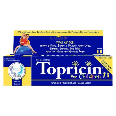 Topricin Children's Pain Relief Cream - 2.0 oz