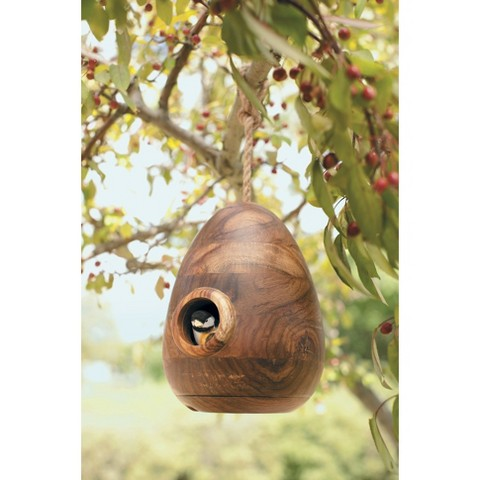Smith & Hawken® Natural Wood Bird House