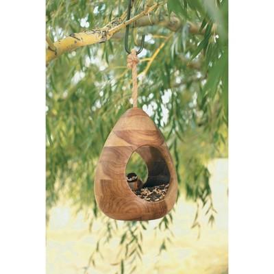 Natural Wood Bird Feeder - Smith & Hawken™