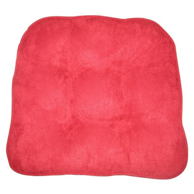 Threshold™ Suede Chairpad - Red