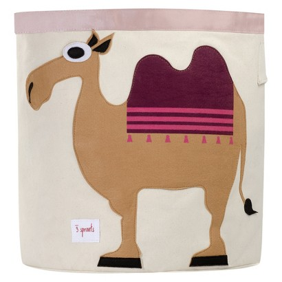 3 Sprouts Decorative Bin Camel