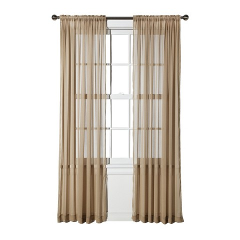 Threshold™ Chiffon Sheer Curtain Panel