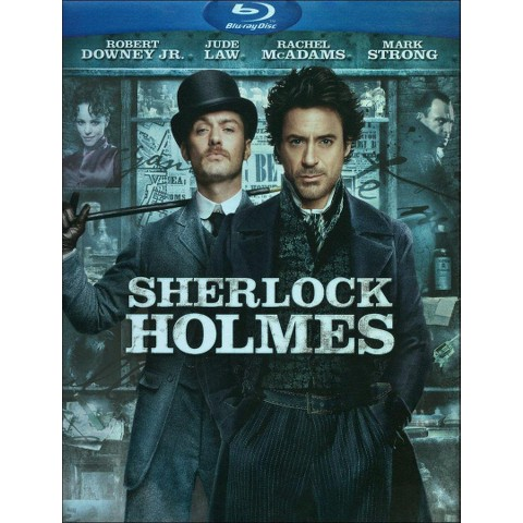 Sherlock Holmes (Includes Digital Copy) (UltraViolet) (Blu-ray) (W) (Widescreen)