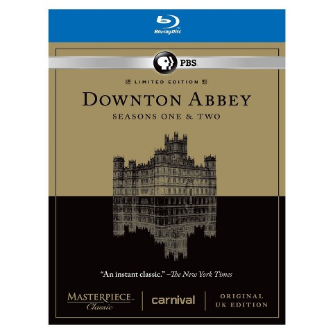 Masterpiece Classic: Downton Abbey - Seasons One & Two [Limited Edition] [6 Discs] [Blu-ray]