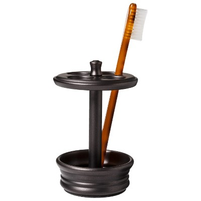 Powder Coated Toothbrush Holder - Bronze - Threshold™