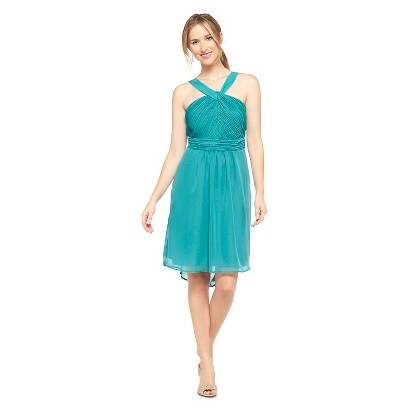 TEVOLIO™  Women's Halter Neck Chiffon Dress - Fashion Colors