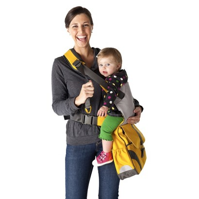 Go Go Babyz Sidekick Infant Carrier and Diaper Bag - Bliss