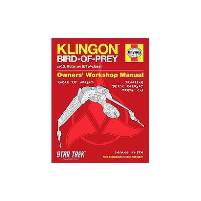 Klingon Bird-of-Prey Owners' Workshop Manual (Hardcover)