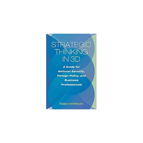 Strategic Thinking in 3d (Hardcover)