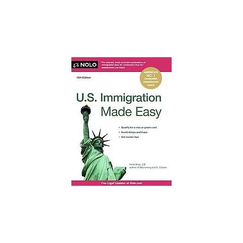 U.S. Immigration Made Easy (Paperback)