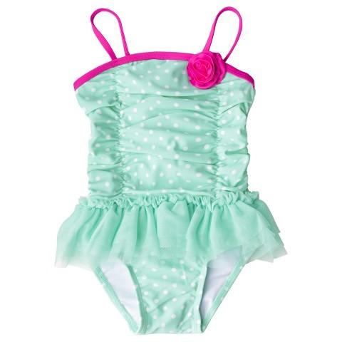 Toddler Girls' One Piece Tutu Swimsuit