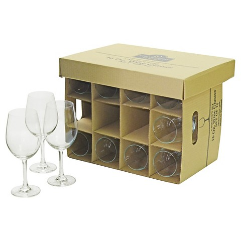 10 Strawberry Street Catering Pack 12 Piece Wine Glasses