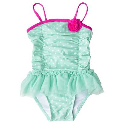 Circo® Infant Toddler Girls' 1-Piece Tutu Swimsuit