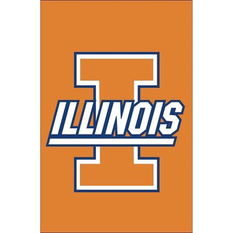 Illinois Fighting Illini Team Sports America Garden Flag