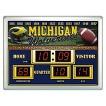 Michigan Wolverines Team Sports America Scoreboard Clock