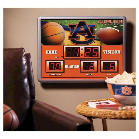 NCAA Scoreboard Wall Clock