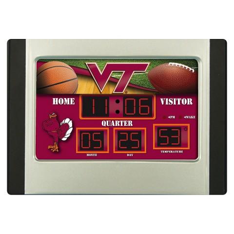 NCAA Scoreboard Desk Clock