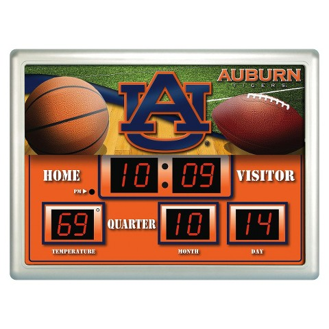 Auburn Tigers Team Sports America Scoreboard Clock