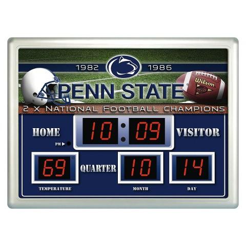 Penn State Nittany Lions Team Sports America Scoreboard Clock