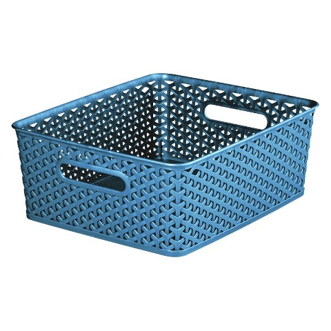 Room Essentials™ Y-Weave Storage Bin Set of 4