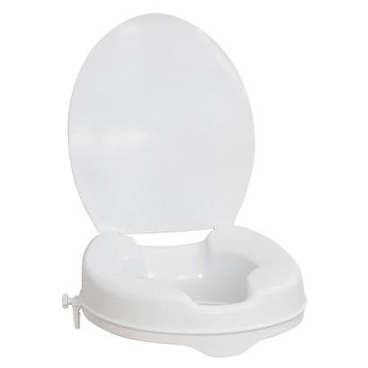 AquaSense Raised Toilet Seat with Lid