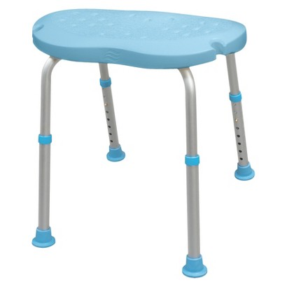 AquaSense Adjustable Bath and Shower Chair with Non-Slip Comfort Seat