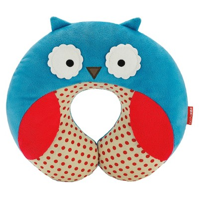 Skip Hop Zoo Little Kids & Toddler Travel Neck Rest, Owl