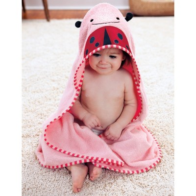 Skip Hop Zoo Toddler Towel and Mitt Set - Ladybug