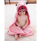Skip Hop Zoo Little Kids & Toddler Towel and Mitt Set, Ladybug