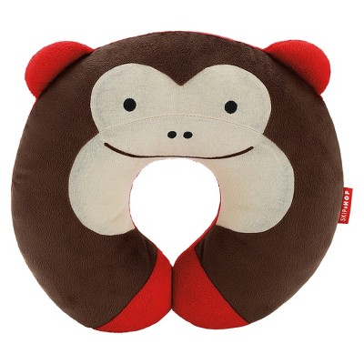 Skip Hop Zoo Little Kids & Toddler Travel Neck Rest, Monkey