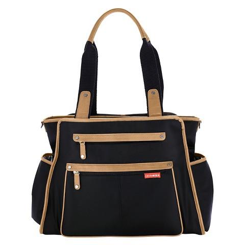 Skip Hop Grand Central Take-It-All Diaper Bag Black