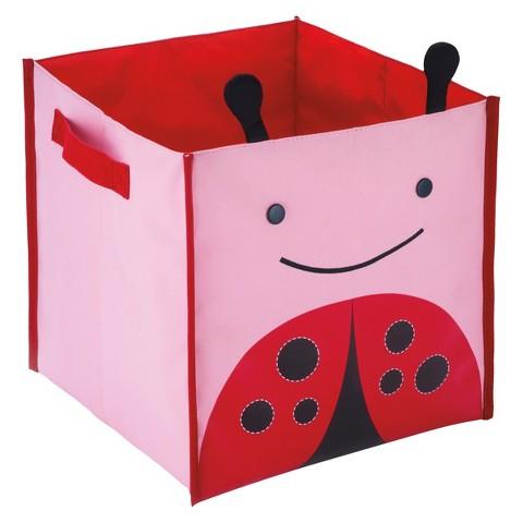 Skip Hop Zoo Toddler Fabric Cube - Ladybug