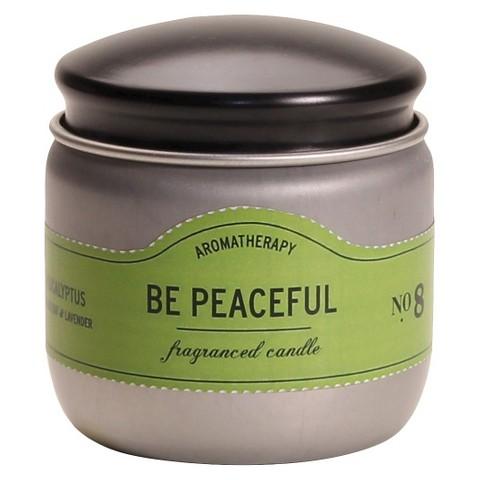 Be Peaceful Candle Tin