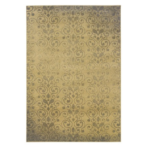 Supreme Area Rug - Gold/Gray