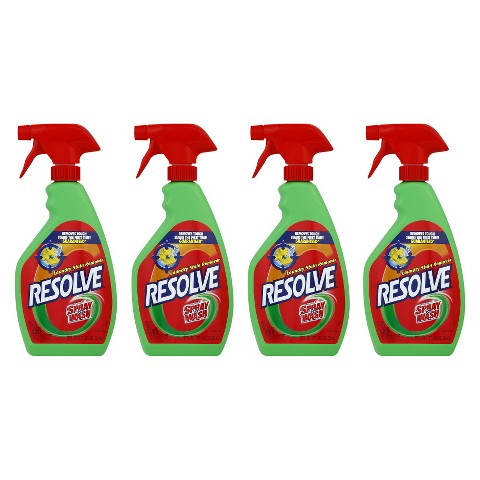 Resolve Laundry Stain Remover - Pre Treat - Trigger,  22 Ounces,  4 Pack