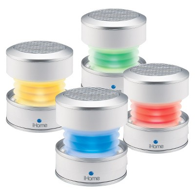 iHome Rechargeable Color Changing Mini Speaker - White (iHM59W)