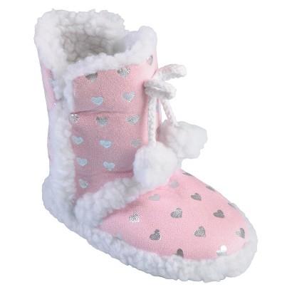 Girl's Hailey Jeans Co Pom Pom Slipper Boots